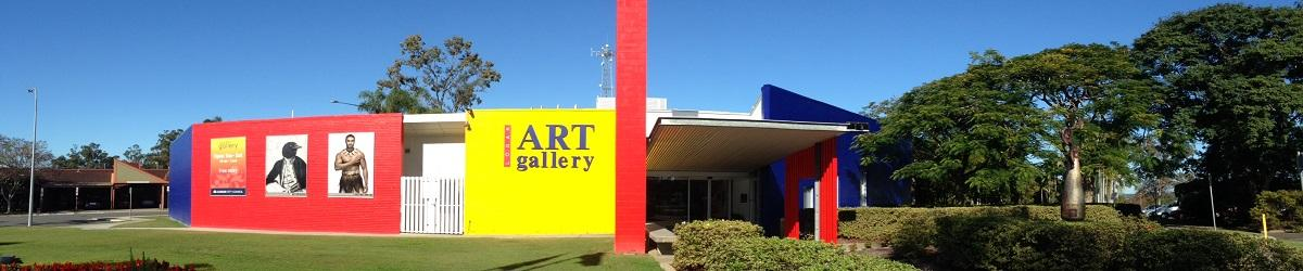 Logan Art Gallery building in the day