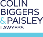 Colin Biggers and Paisley Lawyers logo