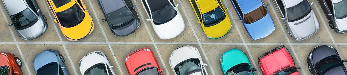 Picture of cars in car park