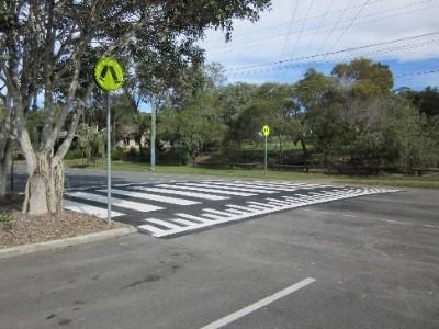 picture of a zebra crossing